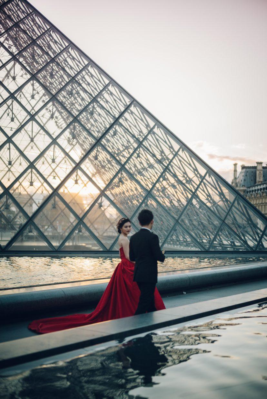 louvre wedding photos