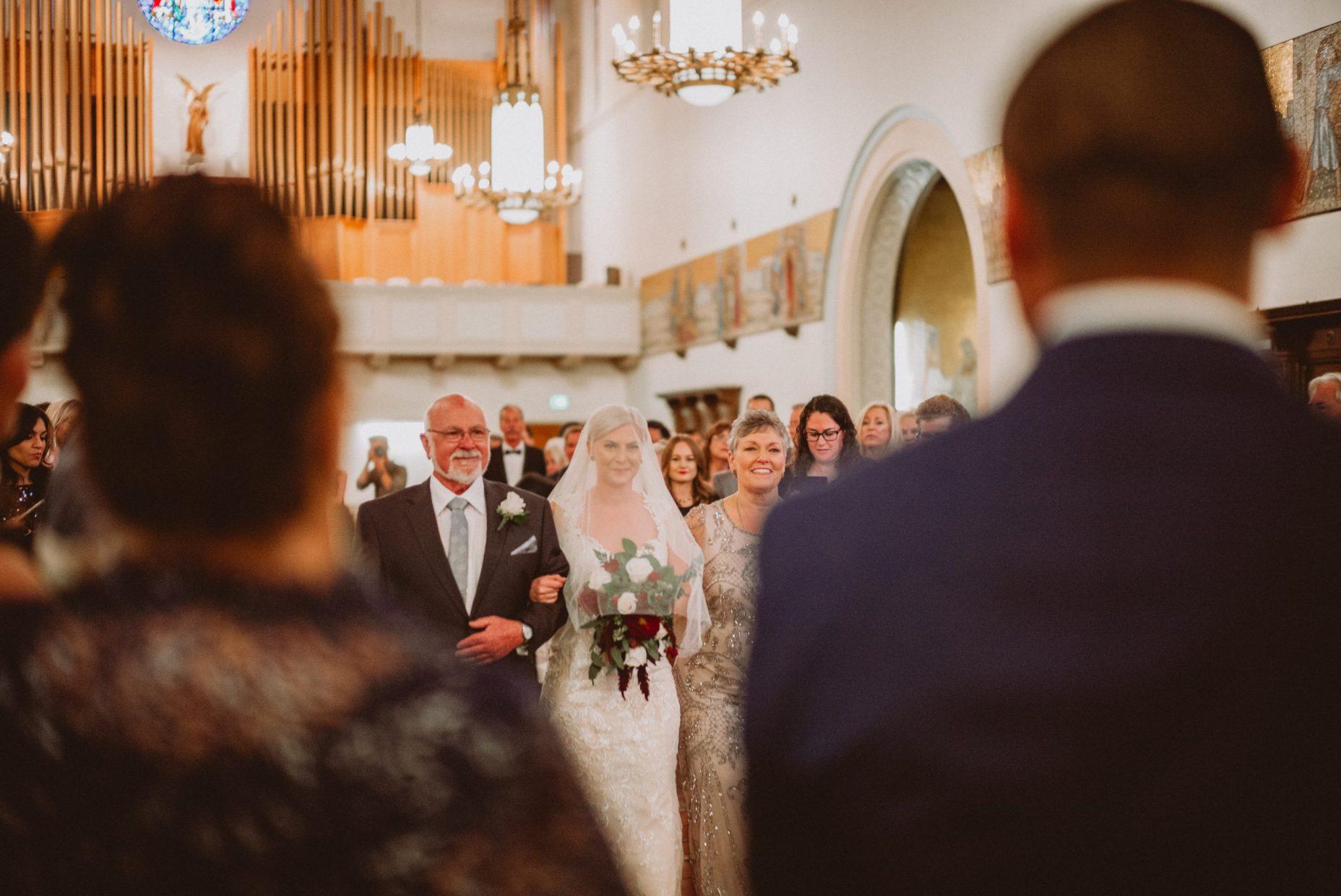 St. Phillip the Apostle Church wedding photos
