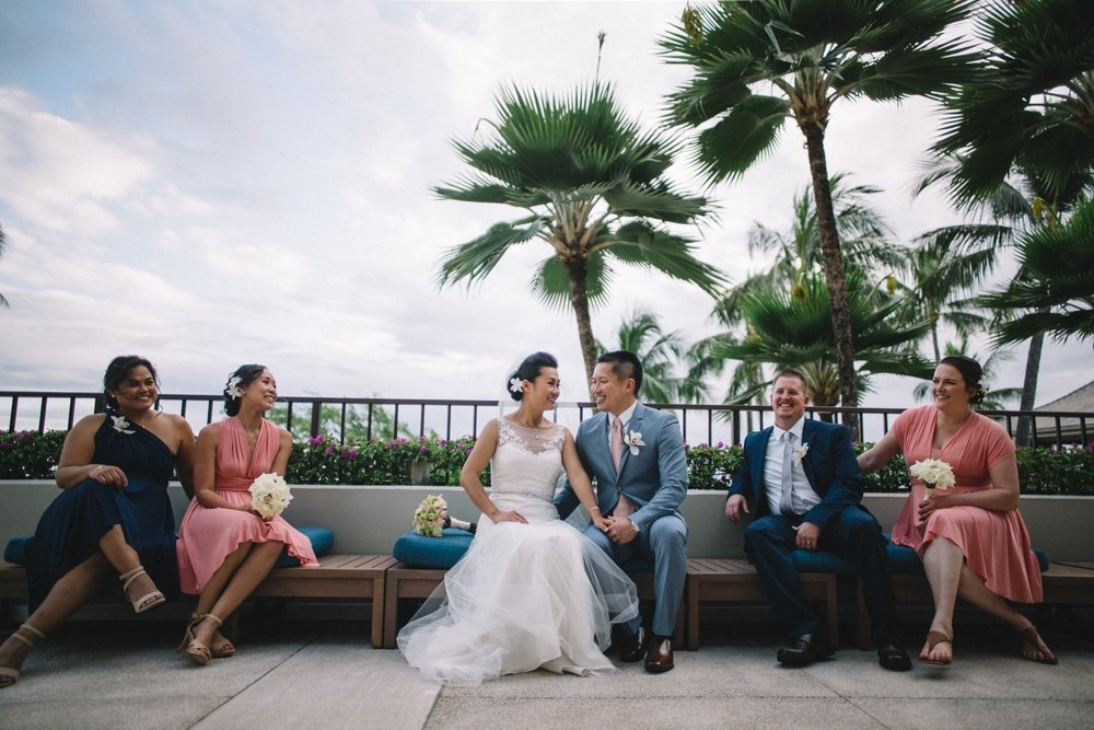halekulani resort wedding photos, oahu hawaii photo