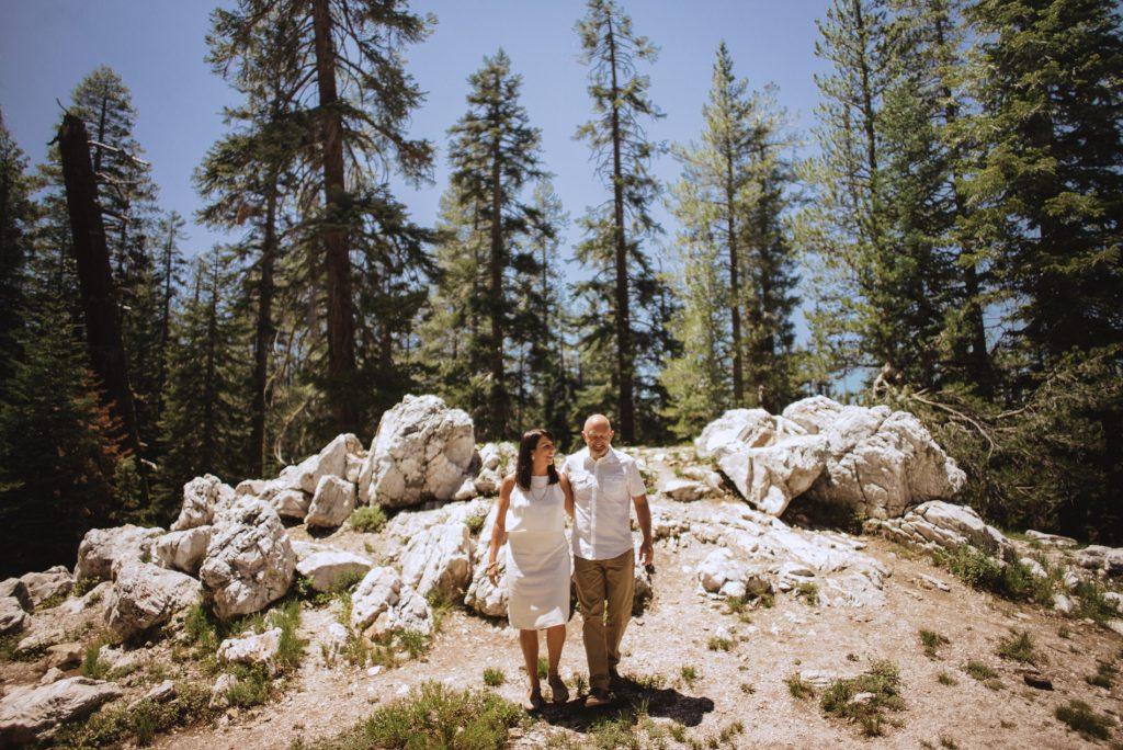 yosemite taft point national park wedding elopement adventure half dome california intimate wedding