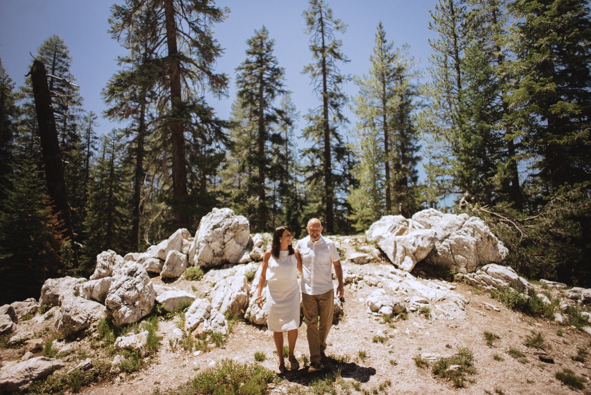 yosemite taft point national park wedding elopement adventure half dome california intimate wedding