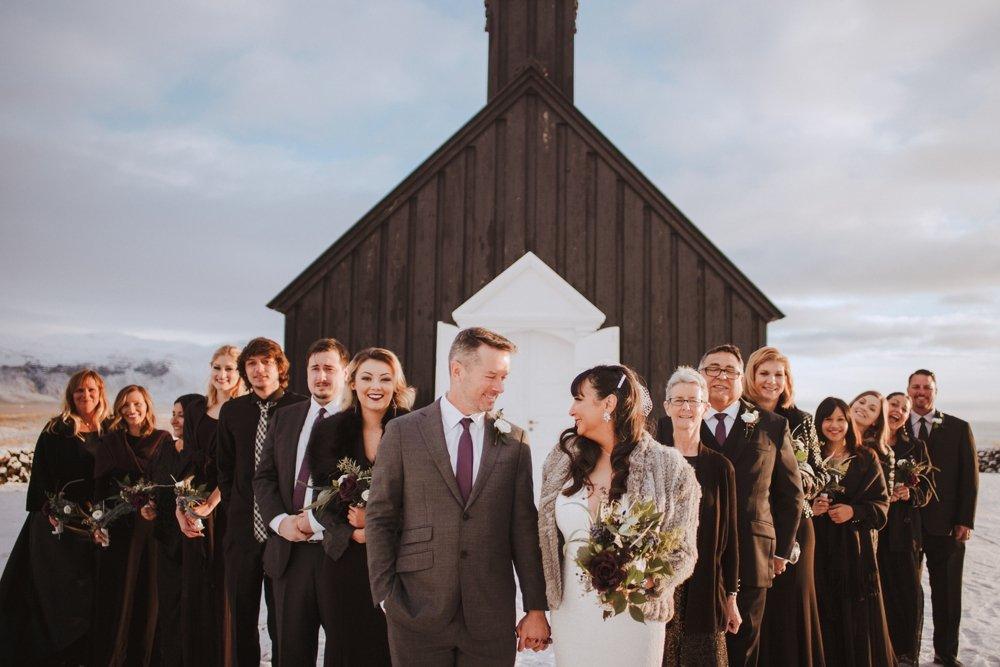 hotel budir black church wedding