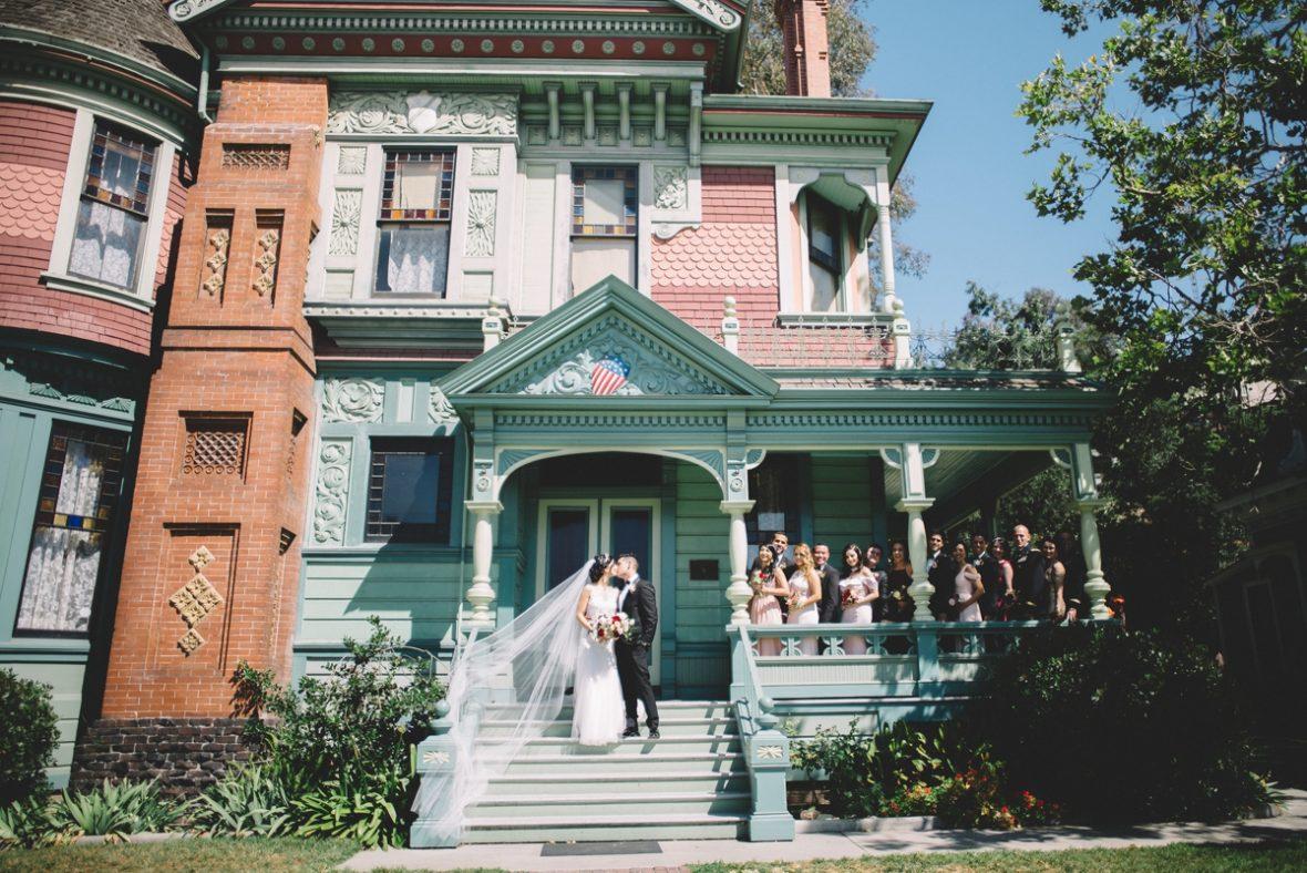 heritage square museum wedding photography los angeles historic venue victorian homes teri b 34