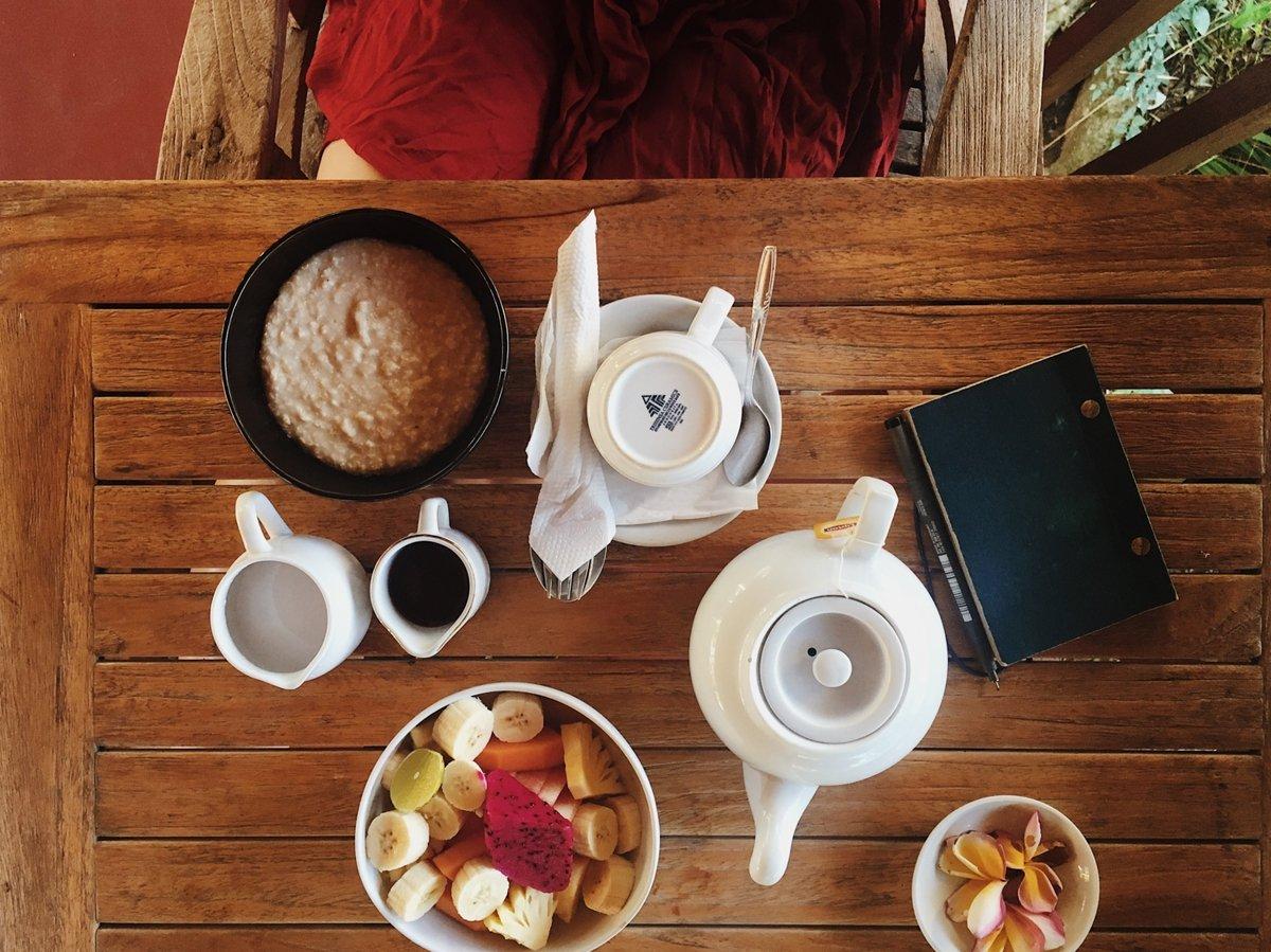prishanti villa breakfast