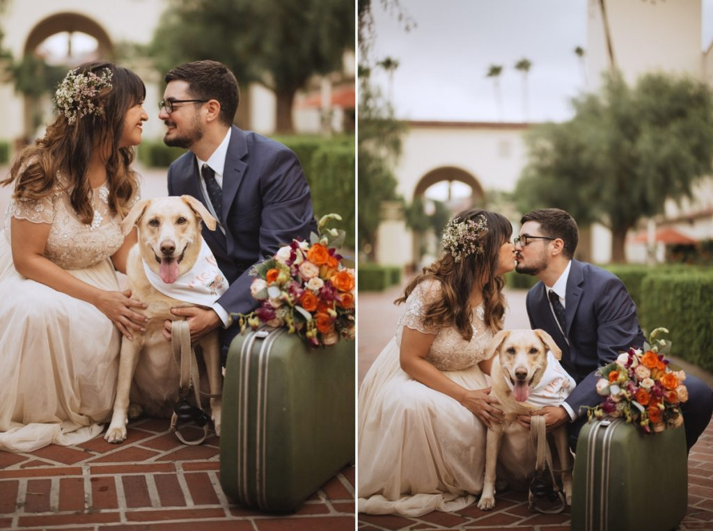 union station wedding elopement bride and groom los angeles photographer destination wedding idea teri b photography leica m240