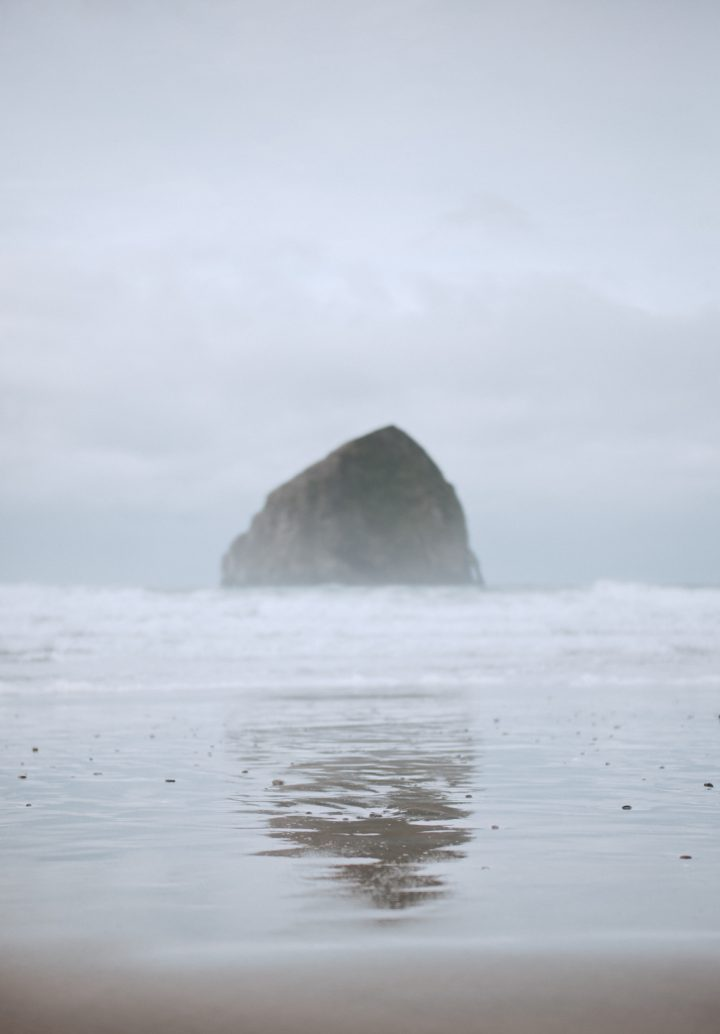 haystack rock pnw photographer