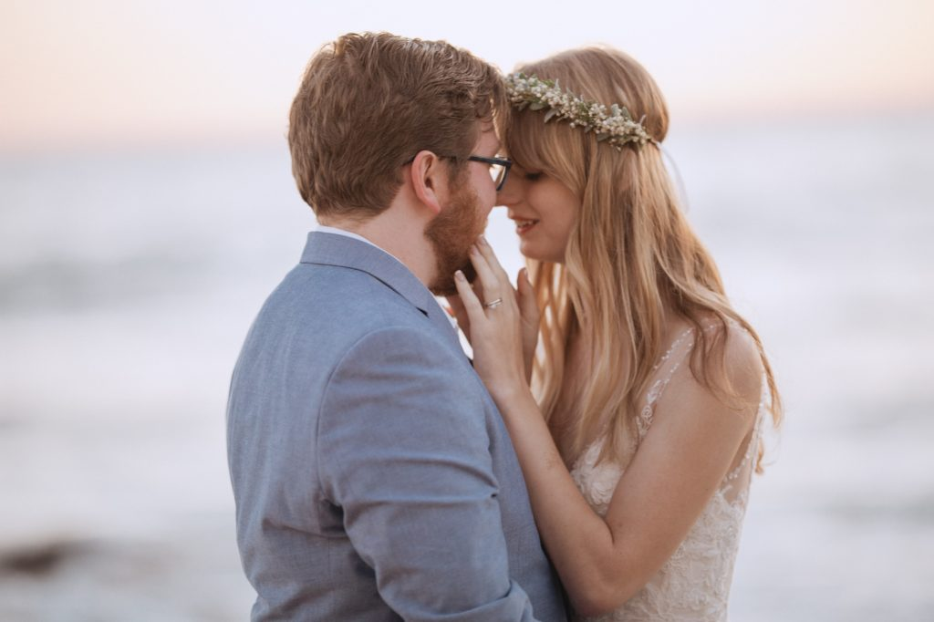 Malibu coast restaurant wedding california beach duke's intimate small ceremony bhldn