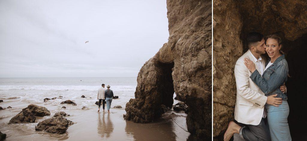 el matador beach proposal