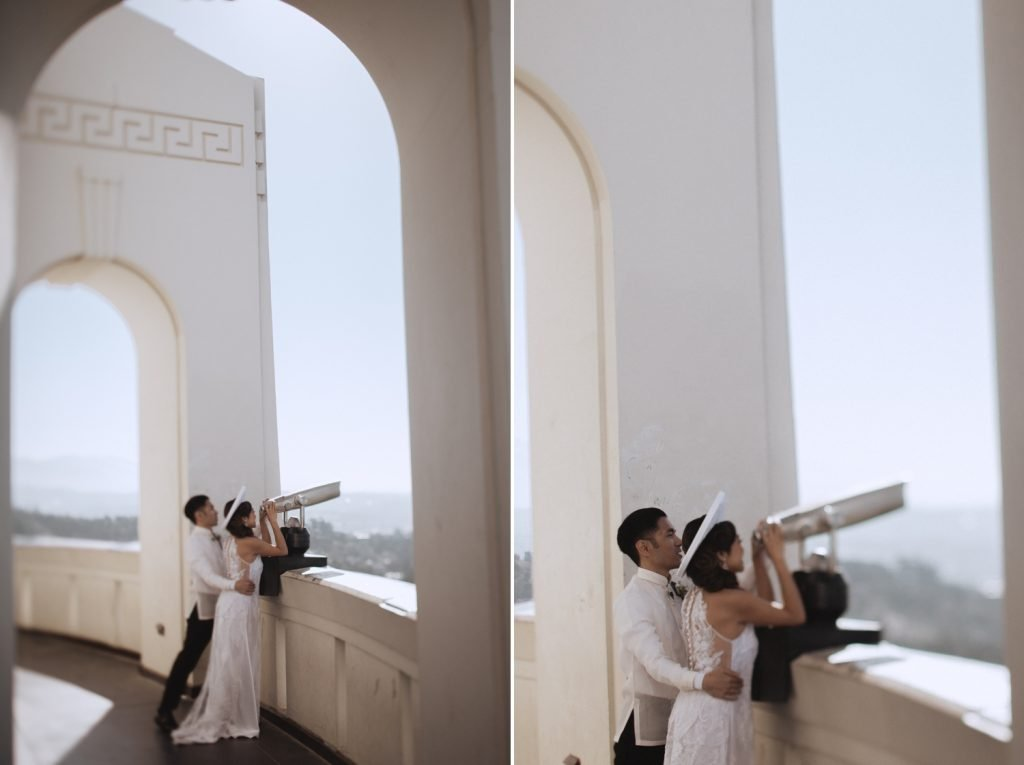 griffith observatroy wedding