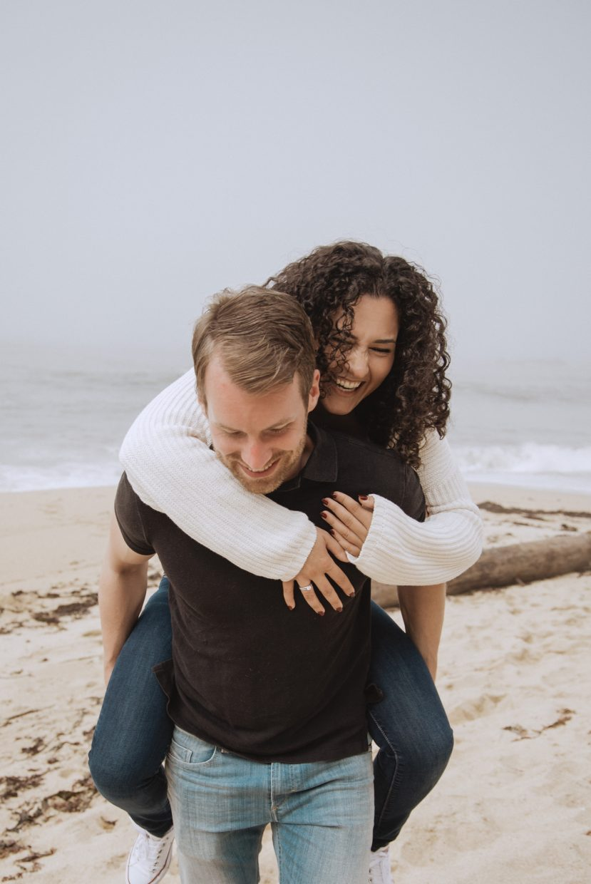 half moon bay ritz carlton honeymoon wedding engagement photos photography photographer teri b