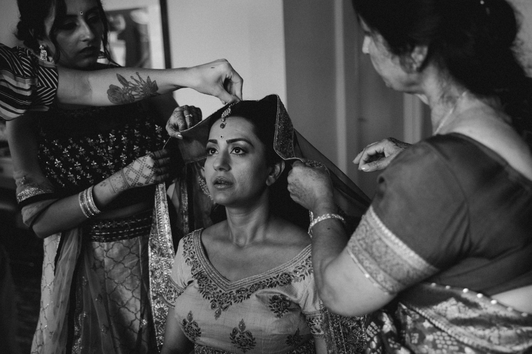 moody indian wedding photography