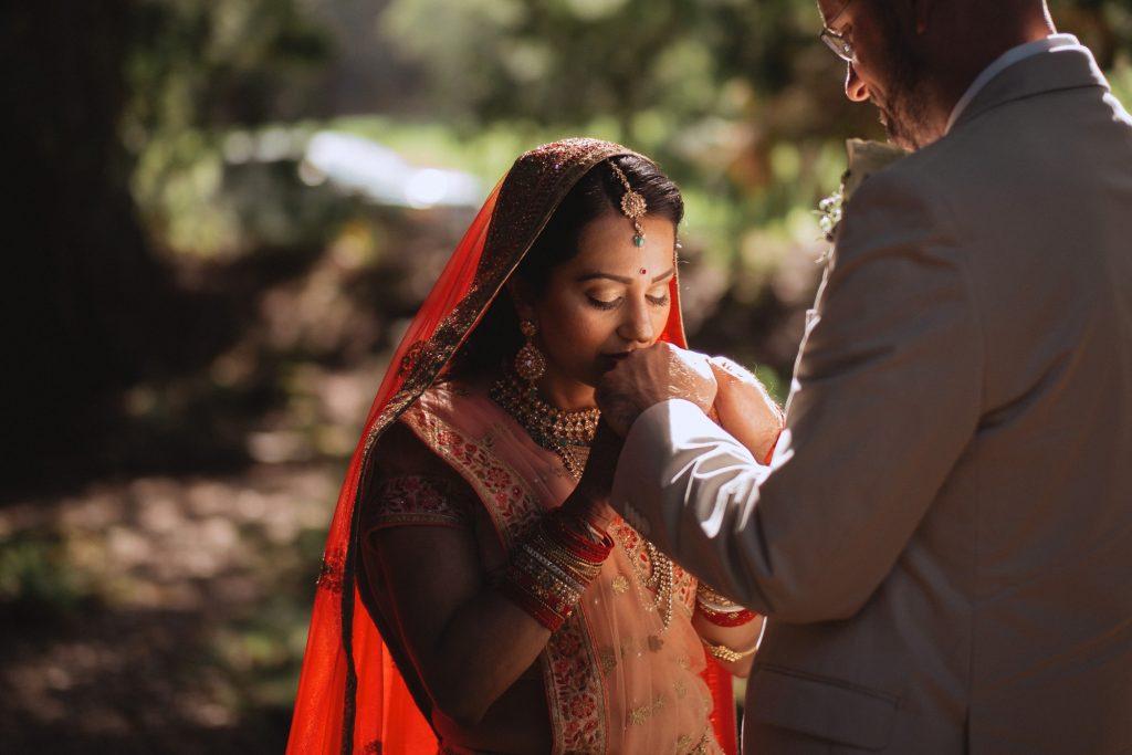 tilden park botanical gardens wedding indian