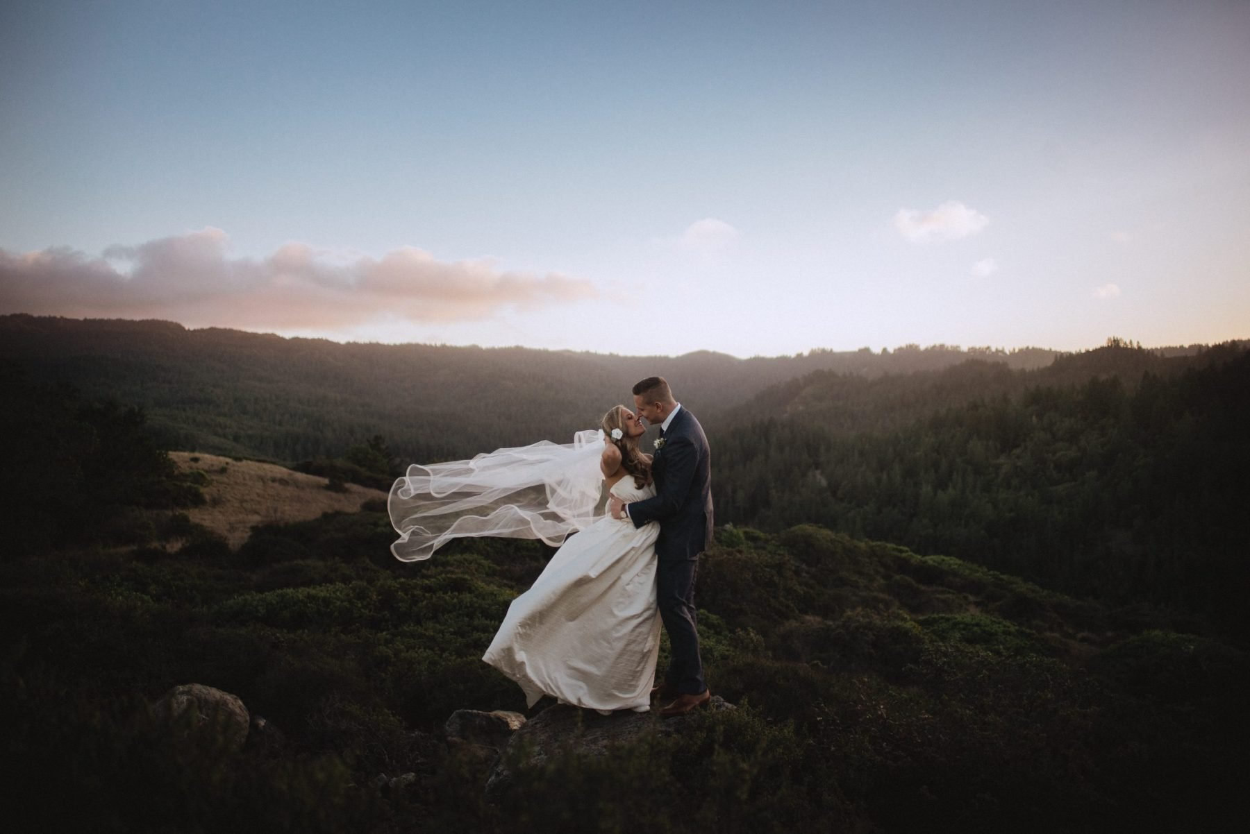 adventure wedding photos northern california