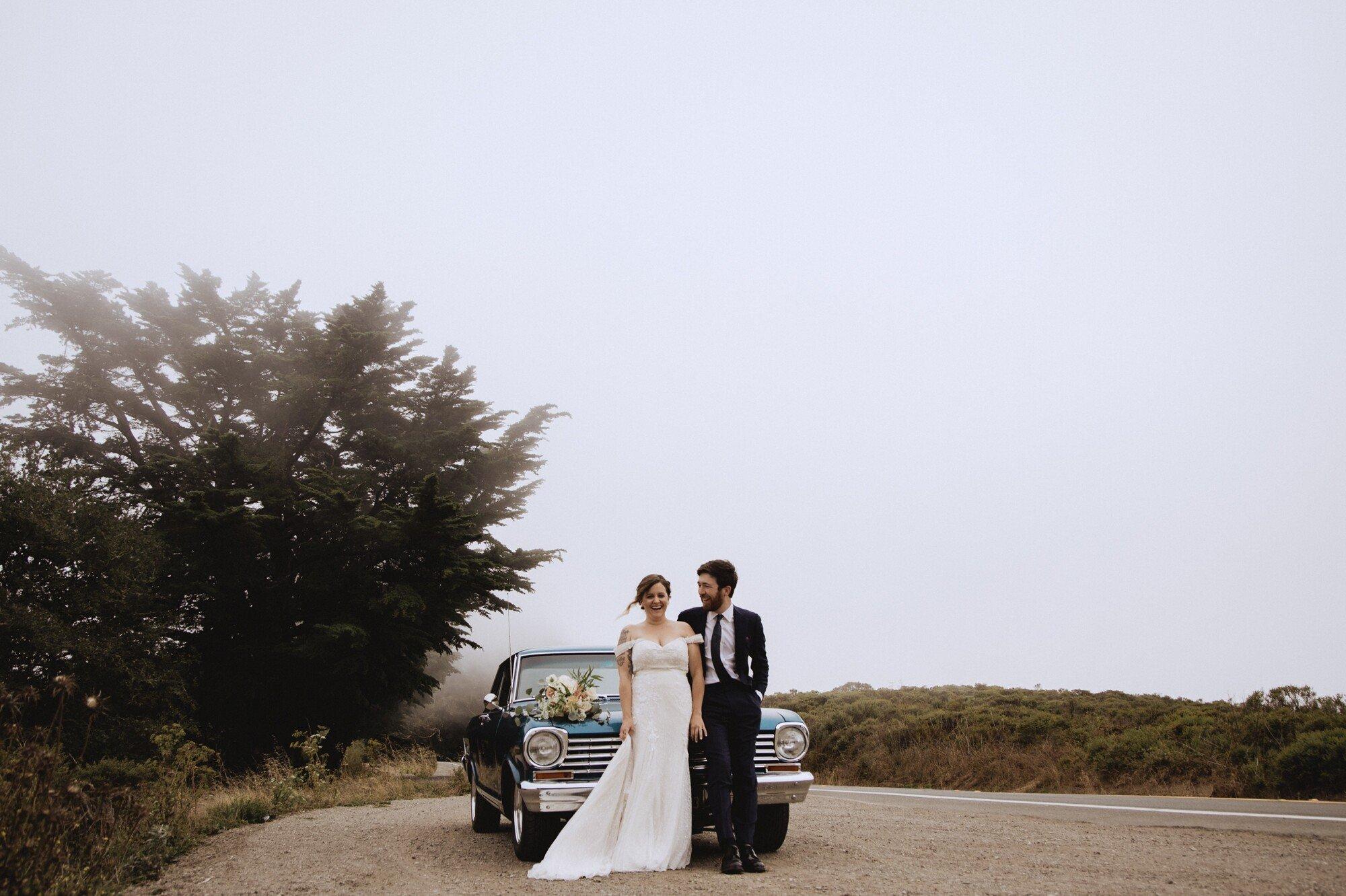 chevy nova wedding photos