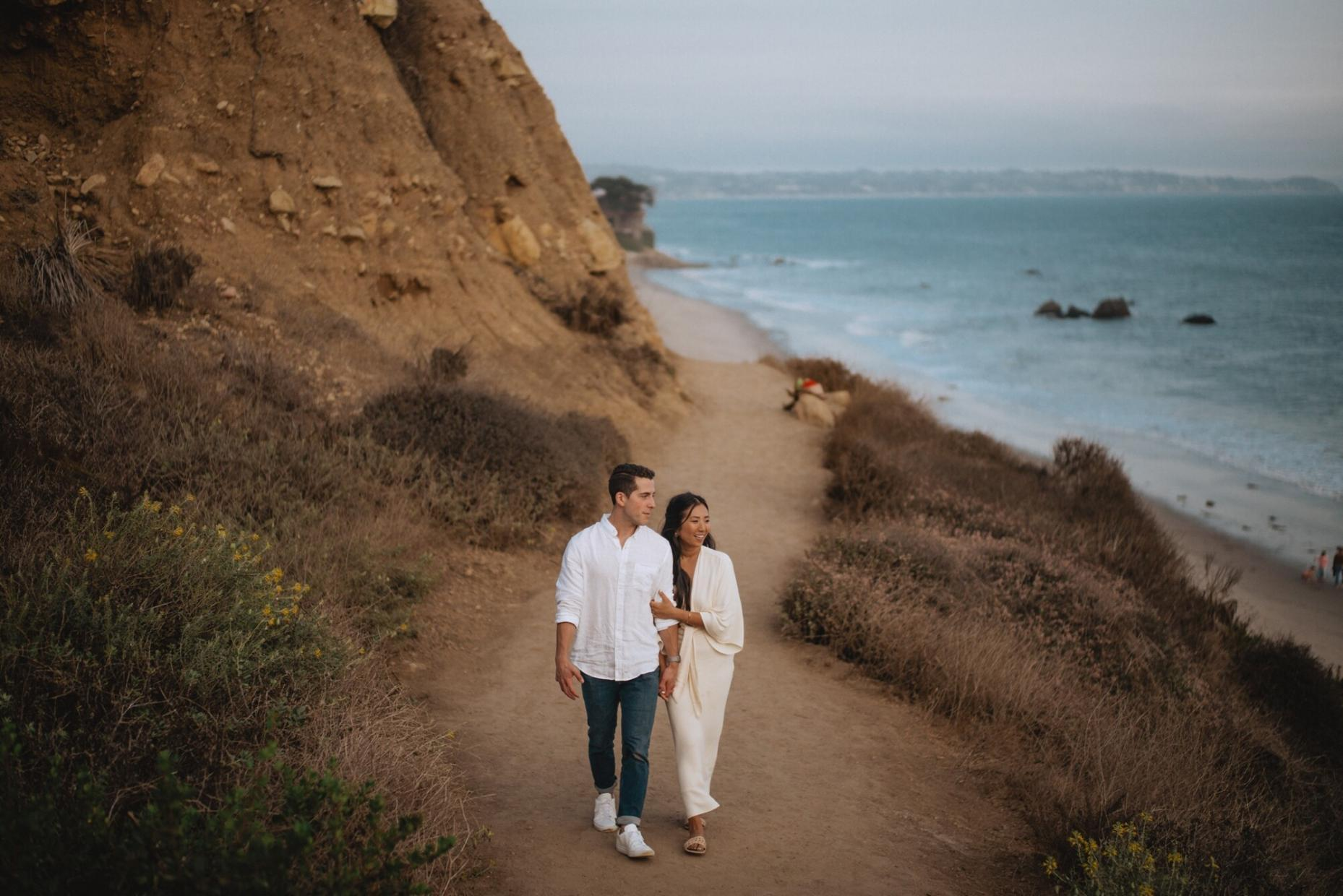 malibu proposal ideas photo, los angeles oceanside proposal photographer