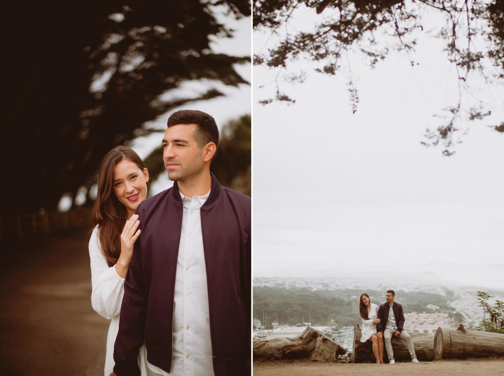 sutro baths engagement photos bay area wedding photographer