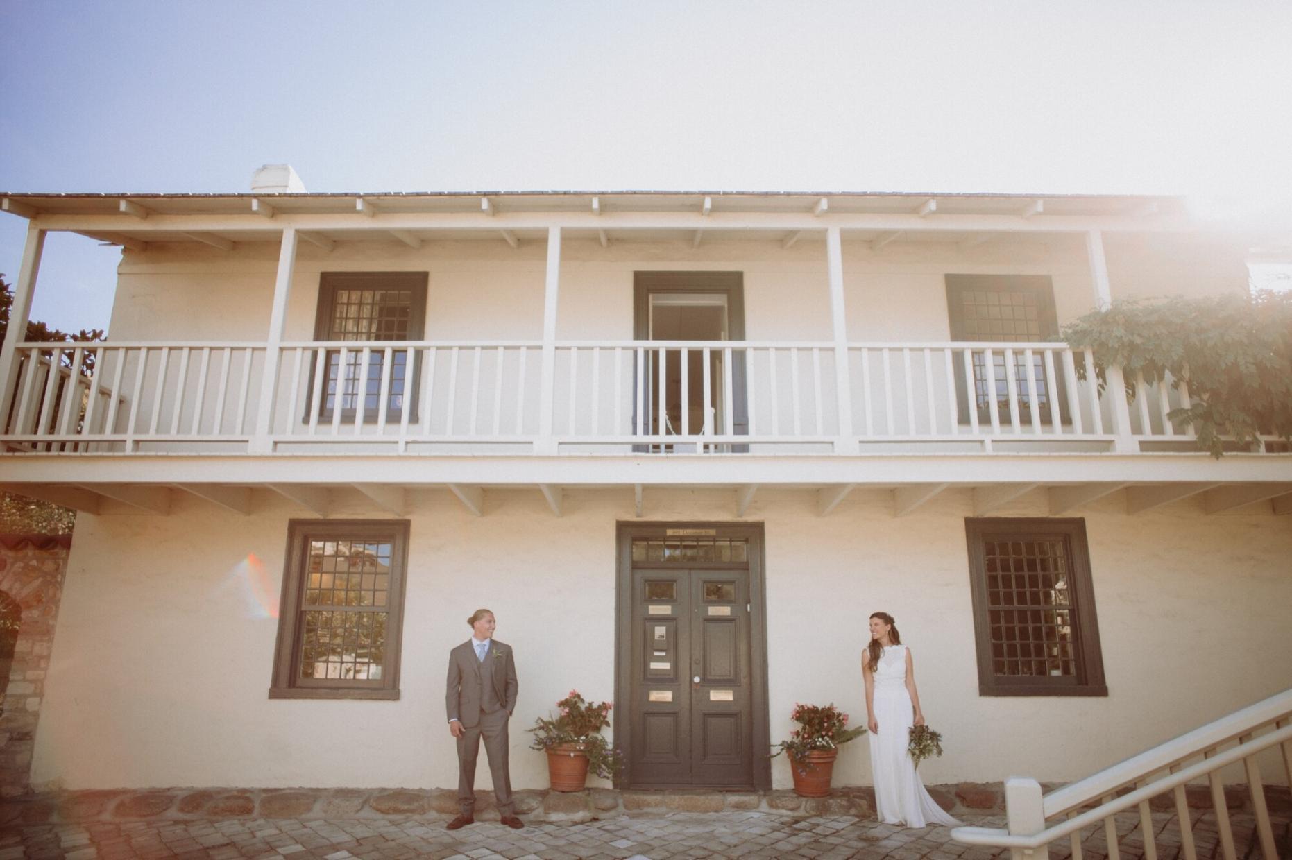 old whaling station wedding photos monterey
